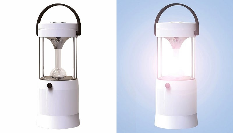 Salt Water Is All You Need To Power This Lamp For 80 Hours