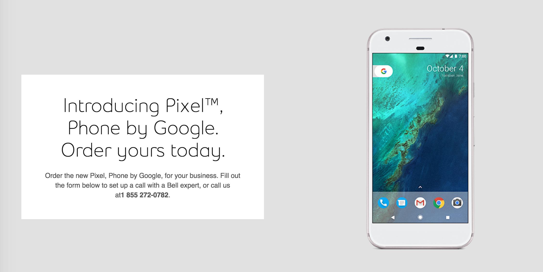 Canadian Company Ruins Google's Super Secret Phone Reveal