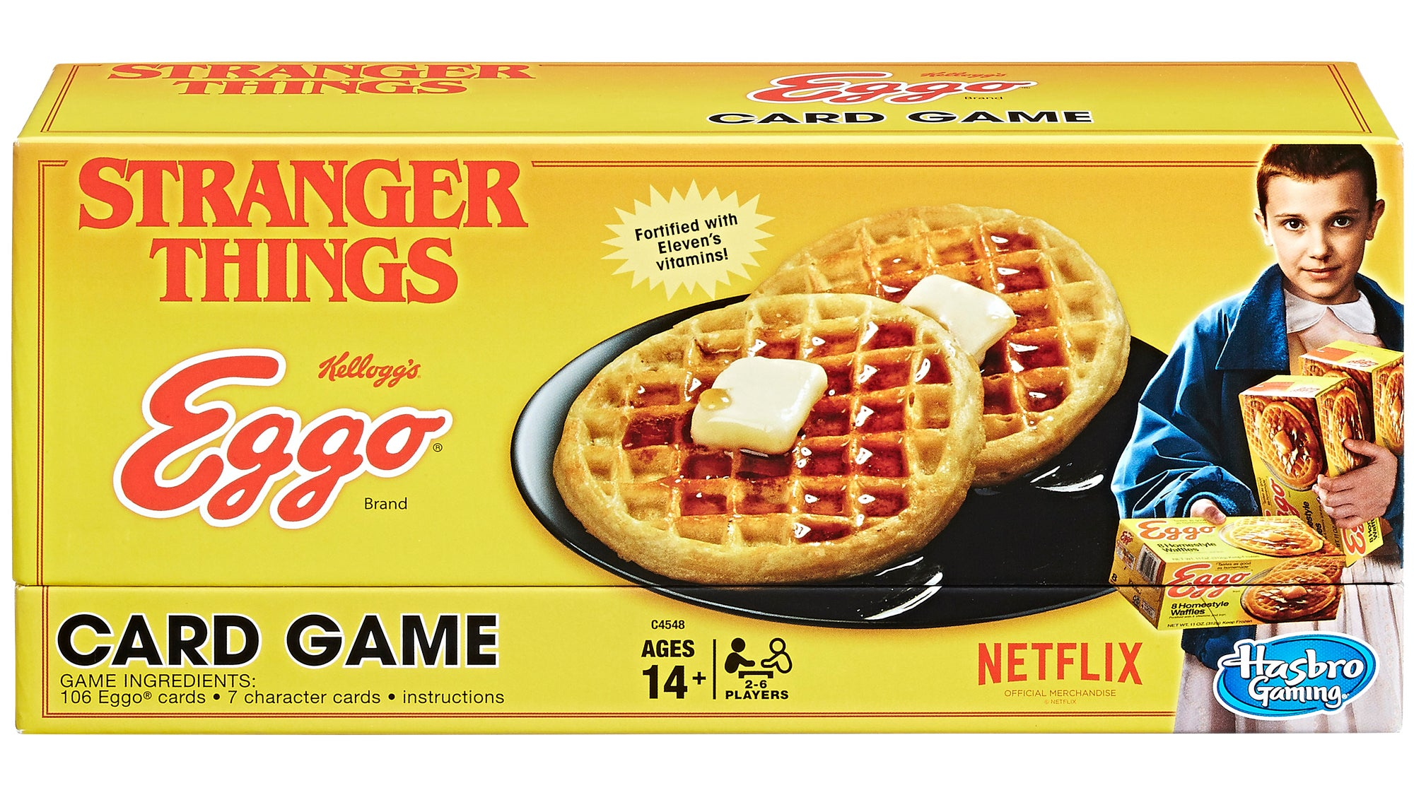 Stranger ThingsIs Getting A Waffle-Based Card Game, And I'm So Confused Right Now