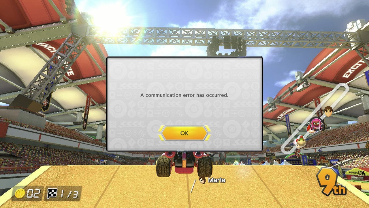 Mario Kart 8 Deluxe Has Connection Issues
