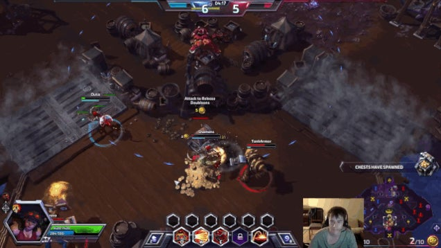 Heroes Of The Storm Team Facepalms In Unison