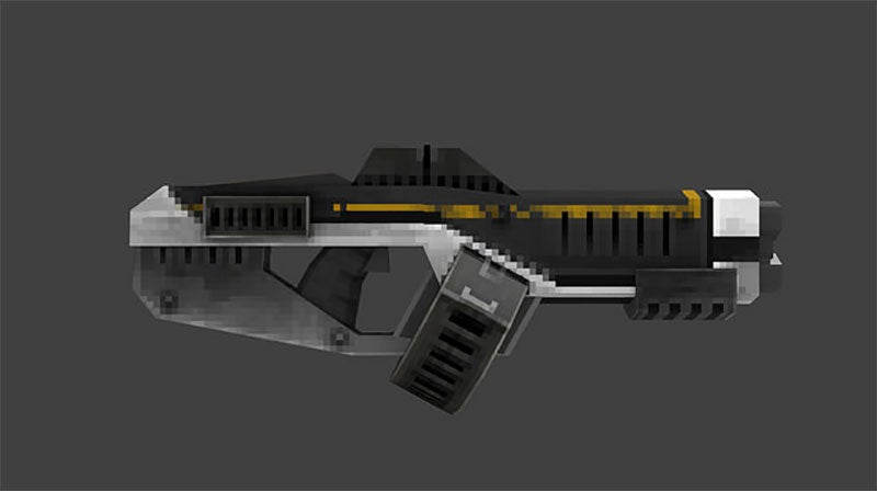 A Low-Poly Weapon In A High-Poly World
