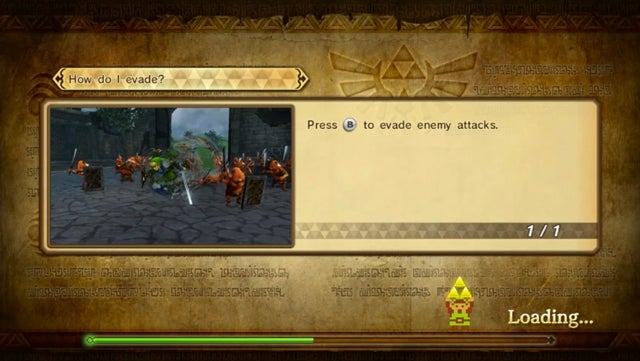 Hyrule Warriors Has A Great Loading Screen