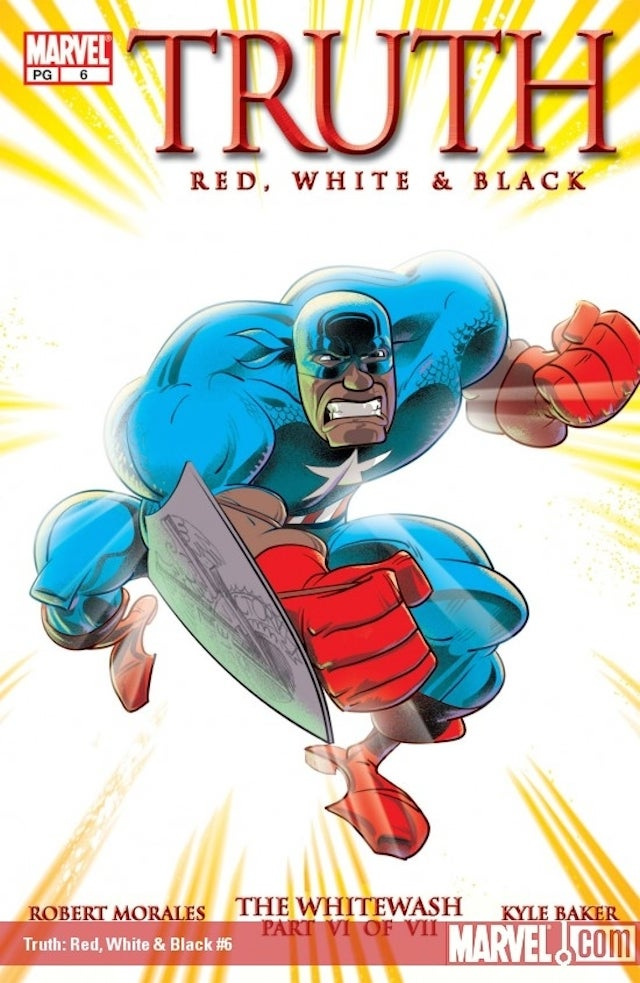 Marvel's Next Super-Hero Surprise Might Be A Black Captain America