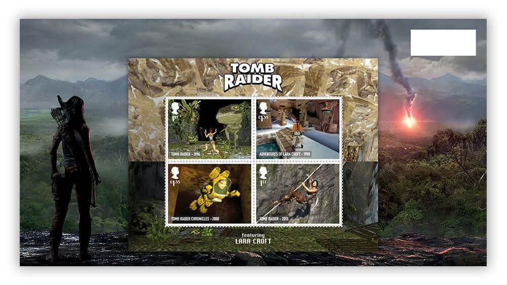 Video Game Stamps Pay Tribute To The Classics, In Case You Ever Actually Need To Send A Letter