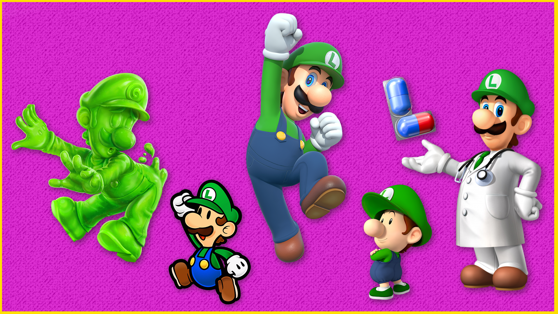 Every Luigi, Ranked