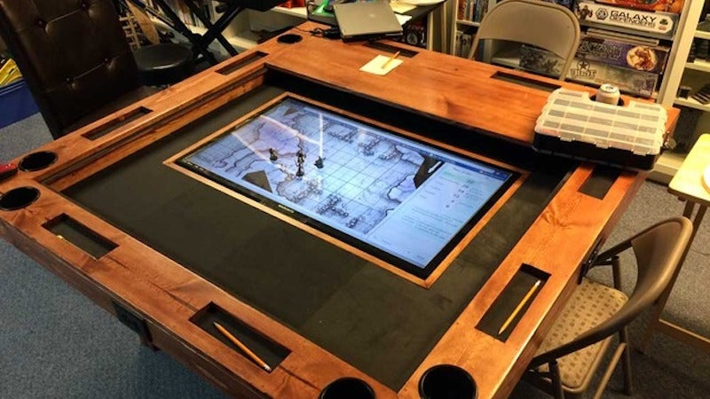 Build a High End Gaming Table for About $US150 ($208)