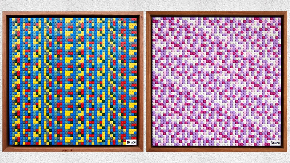 Artist Hides Secret Code To $13,000 Worth Of Cryptocurrencies In LEGO Artworks