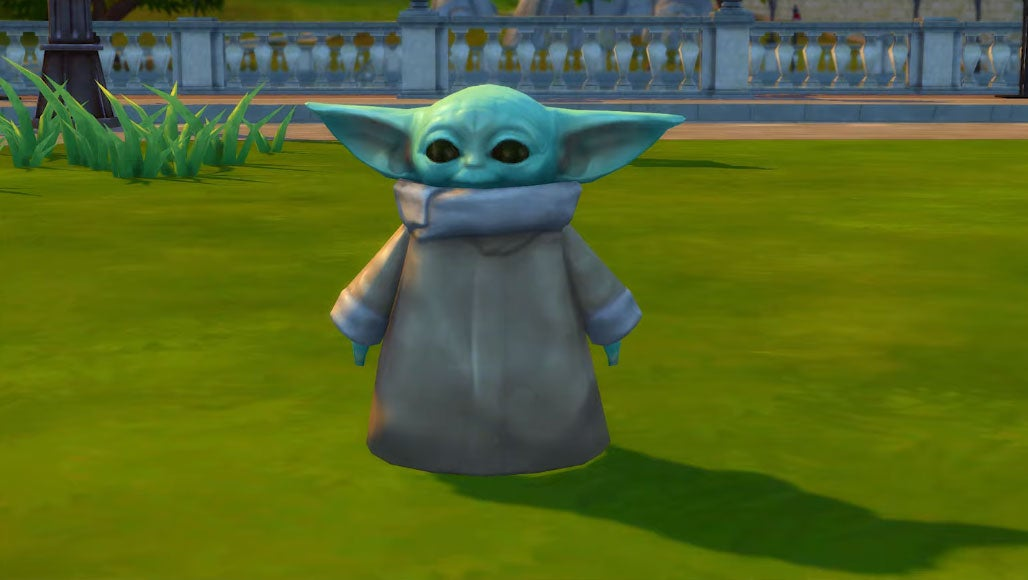 Baby Yoda Can Be Bought In The Sims 4