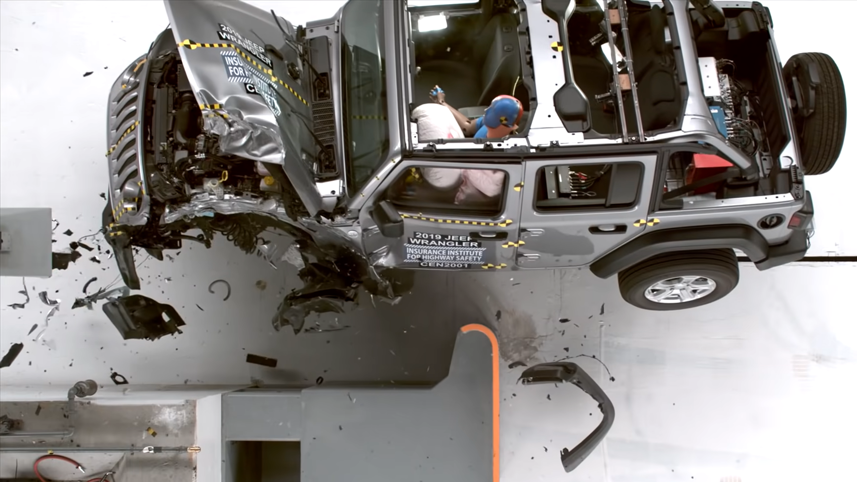 Jeep Claims Wrangler Tip-Over Crash Test Doesn't Reflect Real-World Data As It Works On A Fix