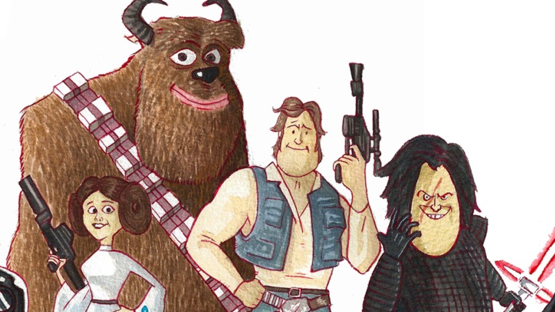 This Pixar And Star Wars Mash-Up Is Almost Too Perfect