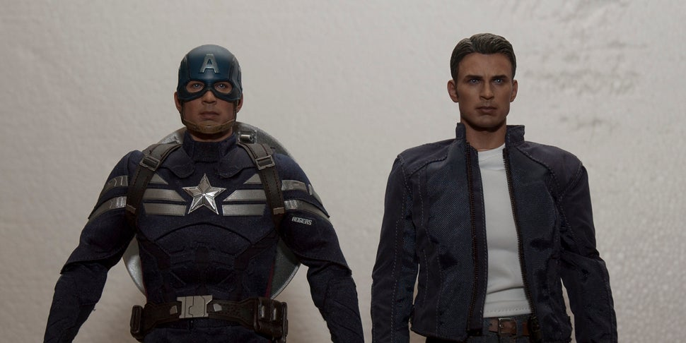 Two Captain America Figures are Better than One