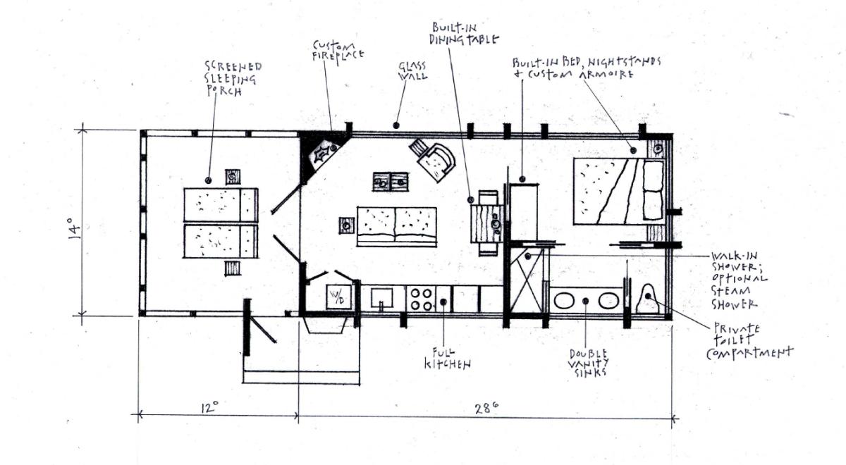 this handmade mobile home is actually an incredibly versatile rv gizmodo australia. Black Bedroom Furniture Sets. Home Design Ideas