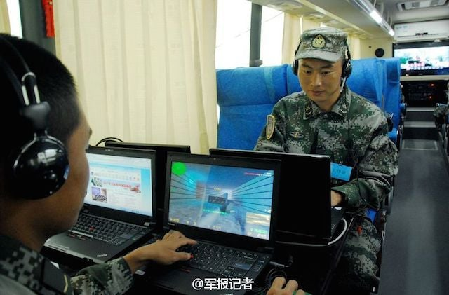 The Chinese Military Has One Kickass Gaming Bus