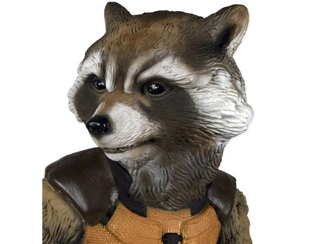 A Life-Size Rocket Raccoon That Won't Knock Over Your Trash Cans