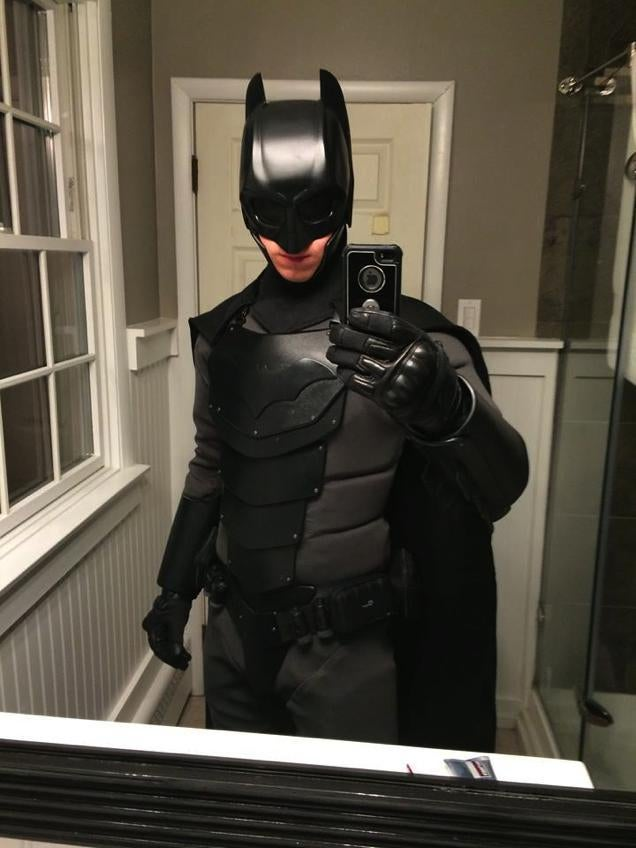 Real-Life Batsuit Tested with Fists and Knives