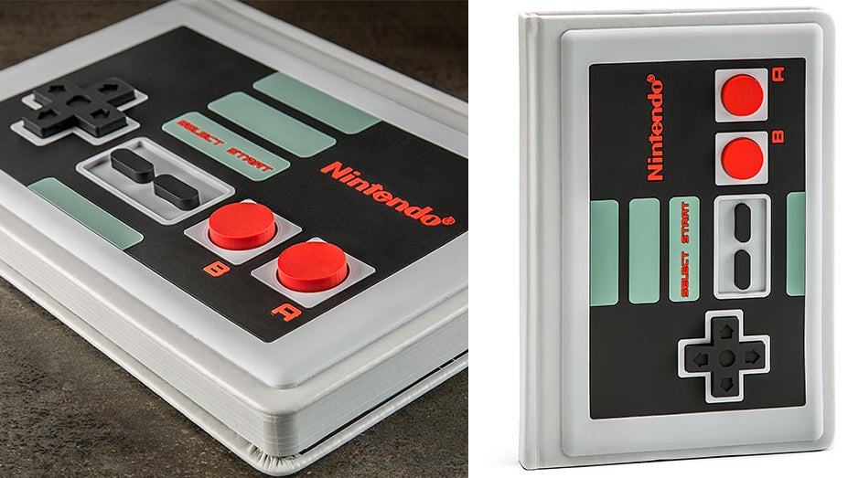 Here's A Notebook Inspired By The NES Controller