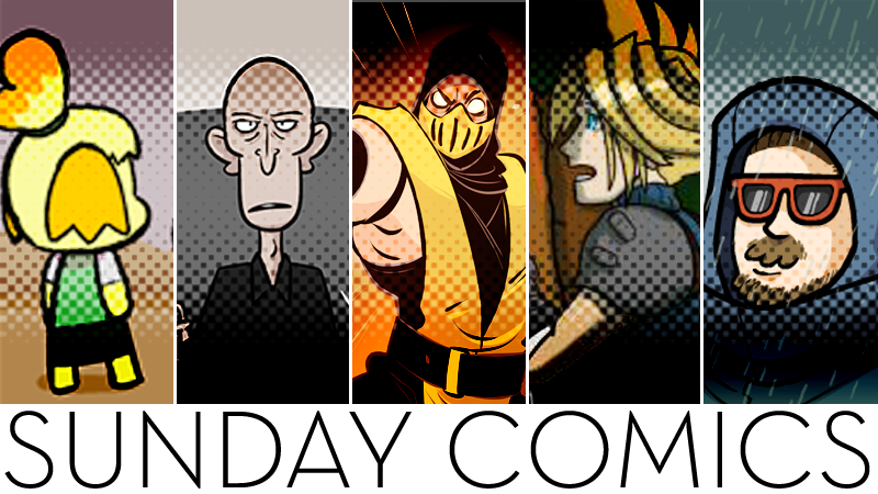 Sunday Comics: Stay Over There!