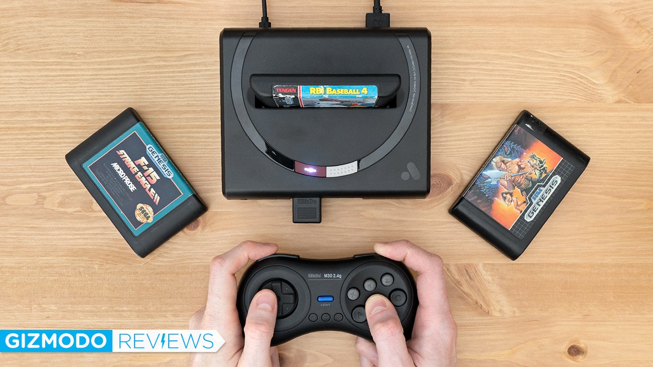 The Mega Sg Is The Only Sega Clone You Should Buy
