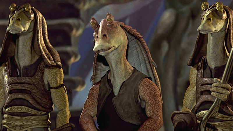 Jar Jar Binks' Actor Is Very Happy With His Character's Canonically Miserable Fate