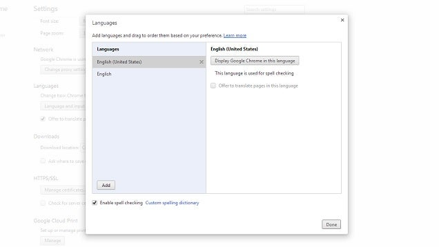 Install More Dictionaries to Chrome for Multi-Language Spell Checking
