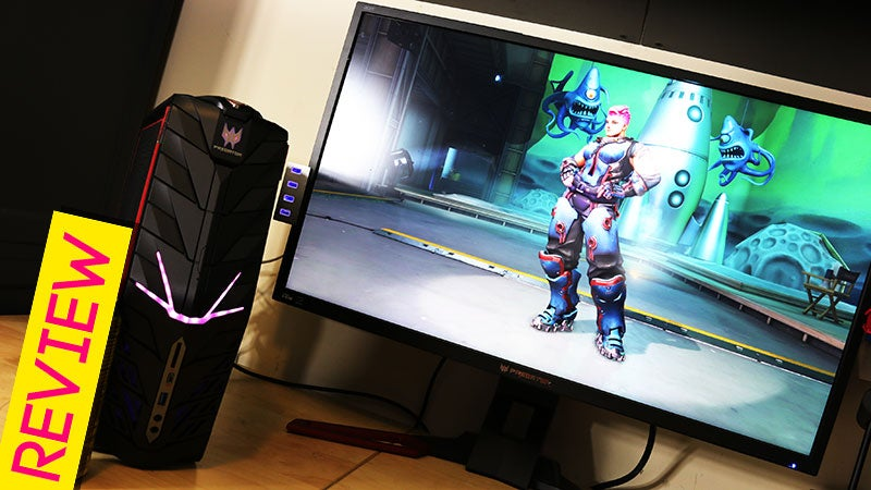 Acer Predator G1 Gaming PC Review: Small But Mighty