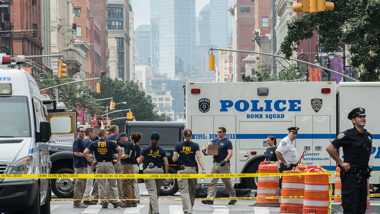 Three Pipe Bombs Found In New Jersey Train Station