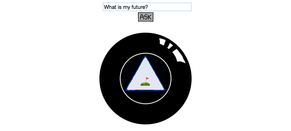 This 8 Ball Predicts Your Future in Emojii