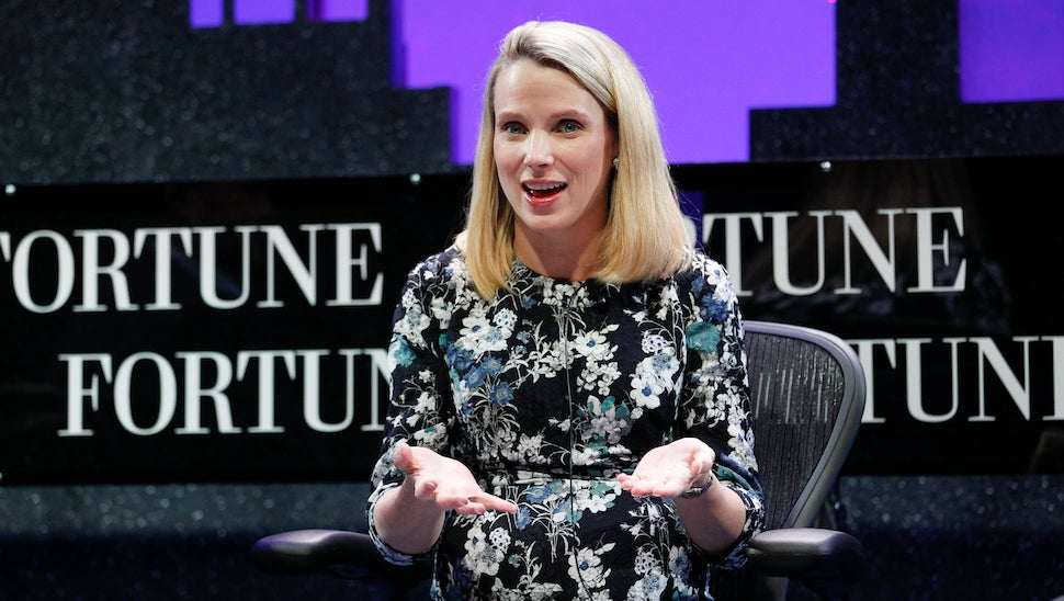 Marissa Mayer Will Dry Her Tears With $US55 ($72) Million if She Gets Fired From Yahoo