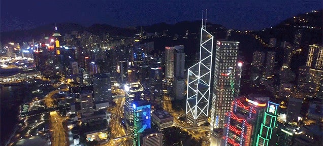 This Drone Video of Hong Kong Is Truly Spectacular