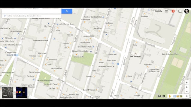 You Can Play Pac-Man On Google Maps Right Now