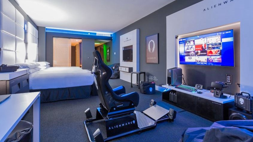 Skip The Tourist Stuff And Just Lock Yourself Up In This Hotel's Bananas Gaming Suite
