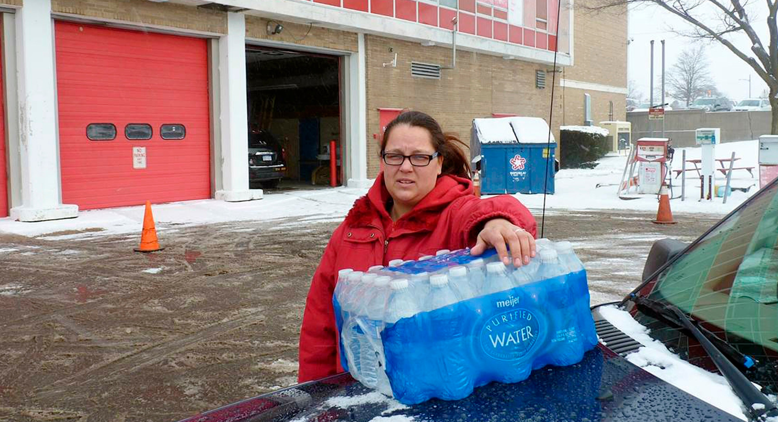 Dystopia: When Walmart Is Supplying Your City's Water