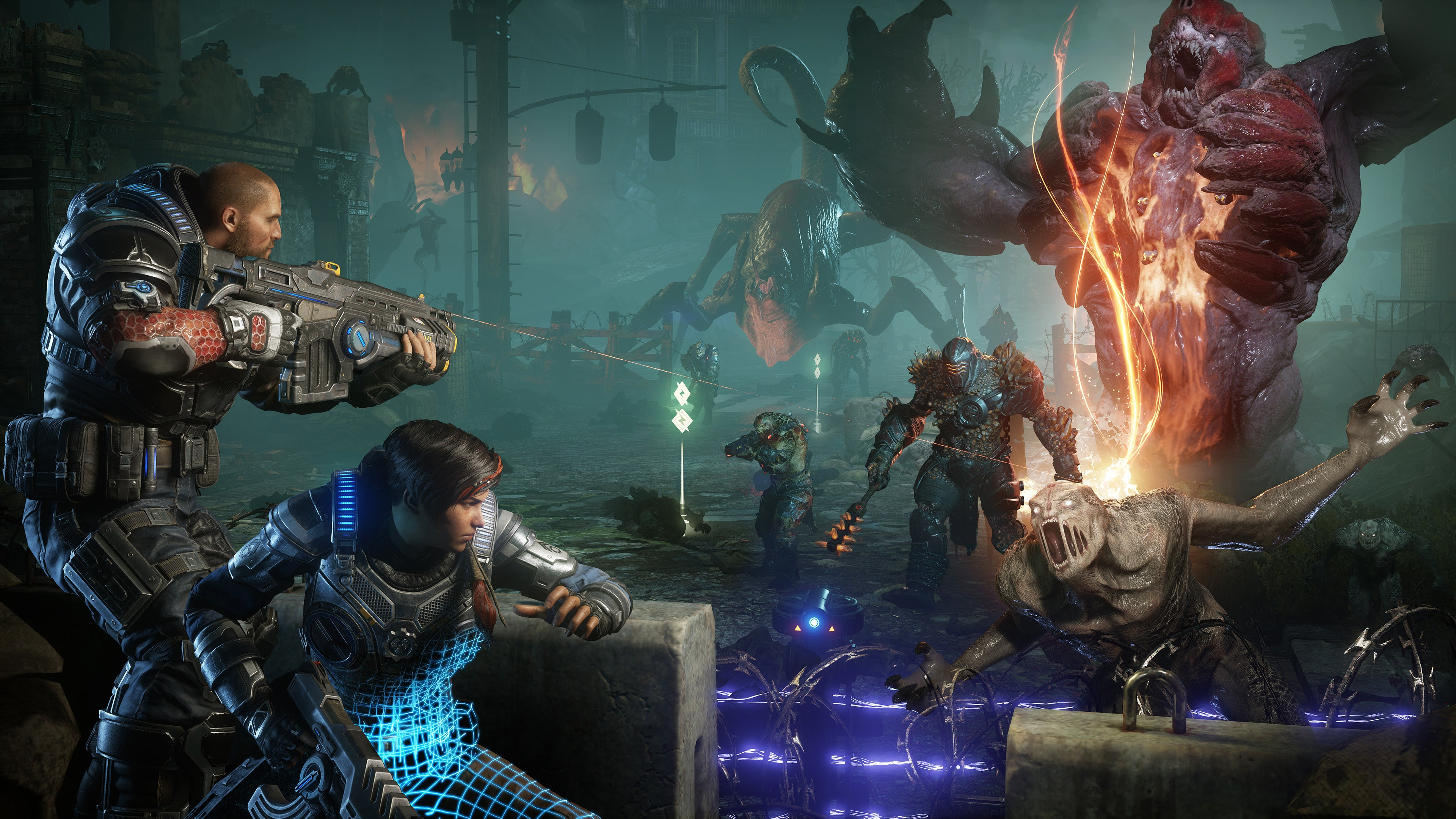 High School Redesigns Shouldn't Remind You Of Taking Cover In Gears Of War