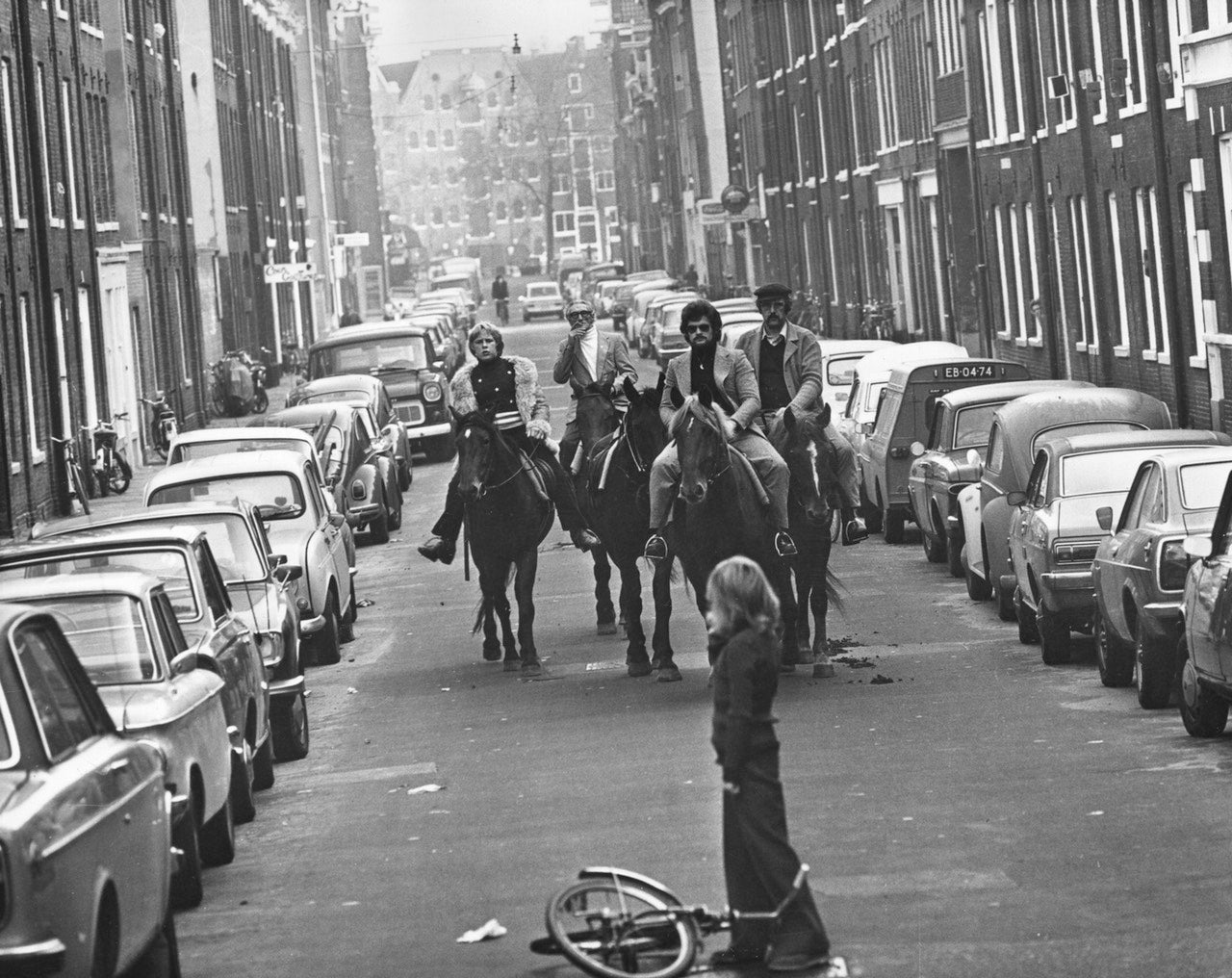 The Dutch rode horses on their highways during the 1970s oil crisis