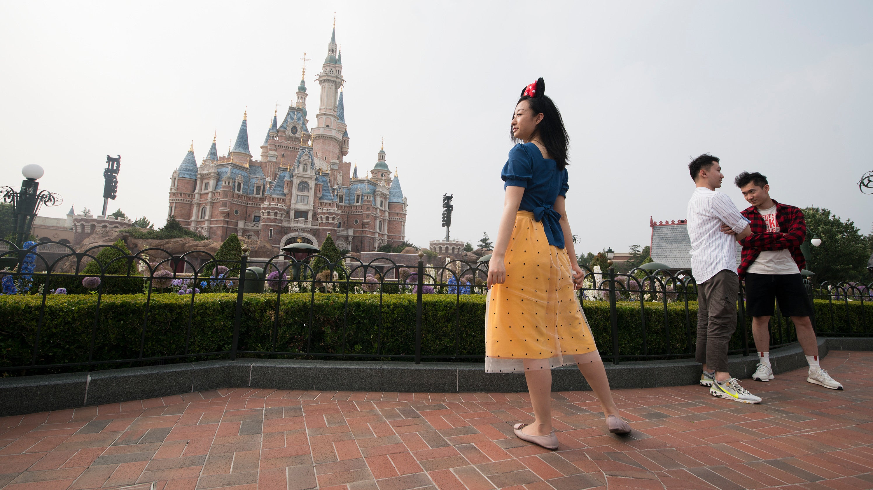 Here's What Shanghai Disneyland Looked Like On Its First Day Of Reopening
