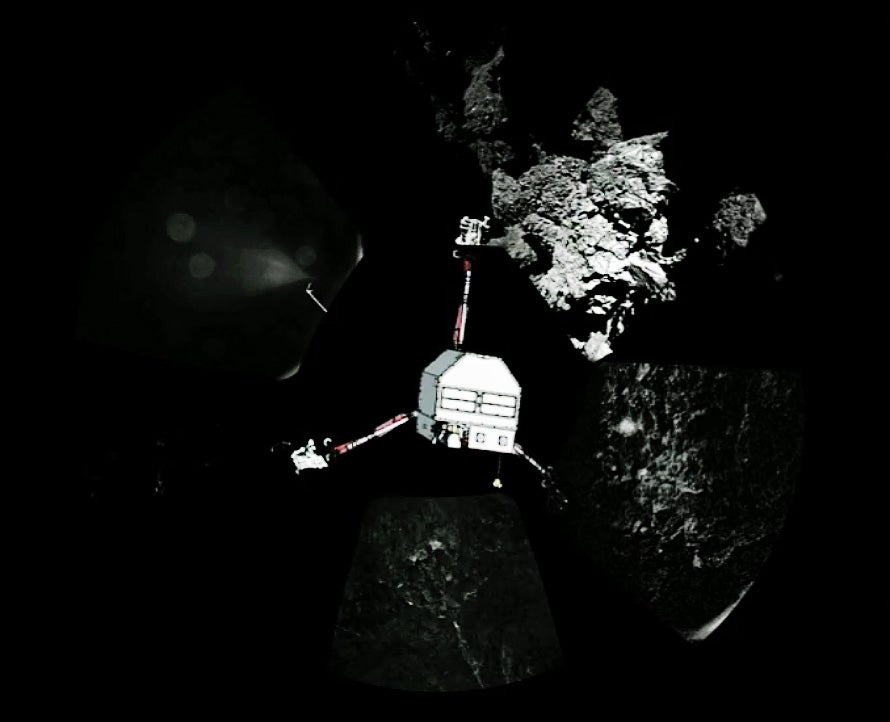Philae's New 360 Degree Image Is Our Best Look at the Comet Yet