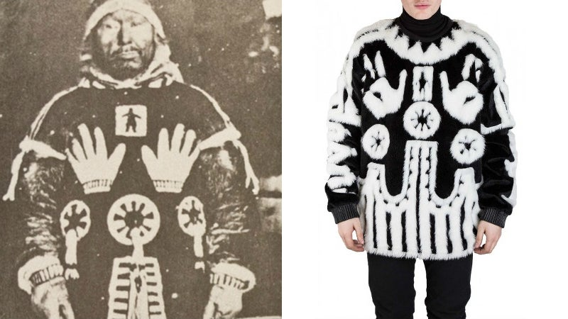 Is This $US1,000 ($1,383) Sweater a Rip-Off of a Sacred Inuit Design? Totally