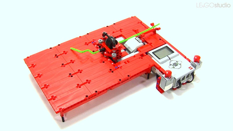 A Pipe Cleaner Bending LEGO Robot Is Equal Parts Pointless And Brilliant