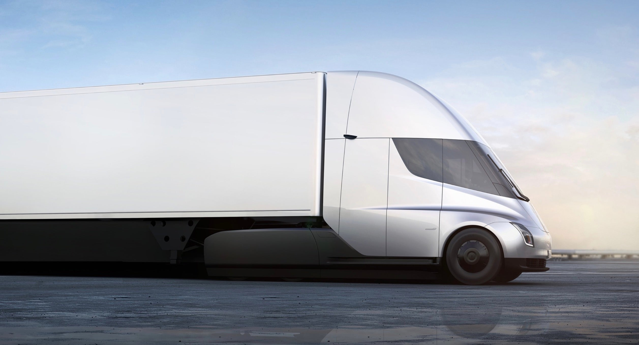 Tesla reveals electric lorry to revolutionise haulage