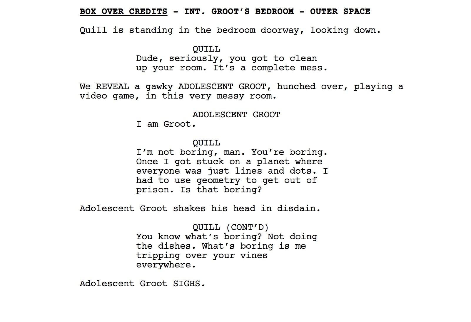 James Gunn releases Guardians of the Galaxy Vol. 2 script online