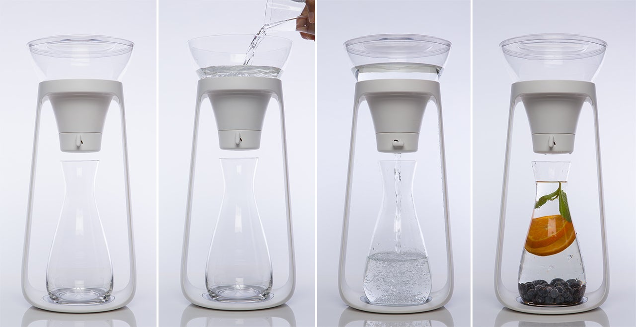 A Stylish Water Filter You Don't Have To Hide In the Fridge