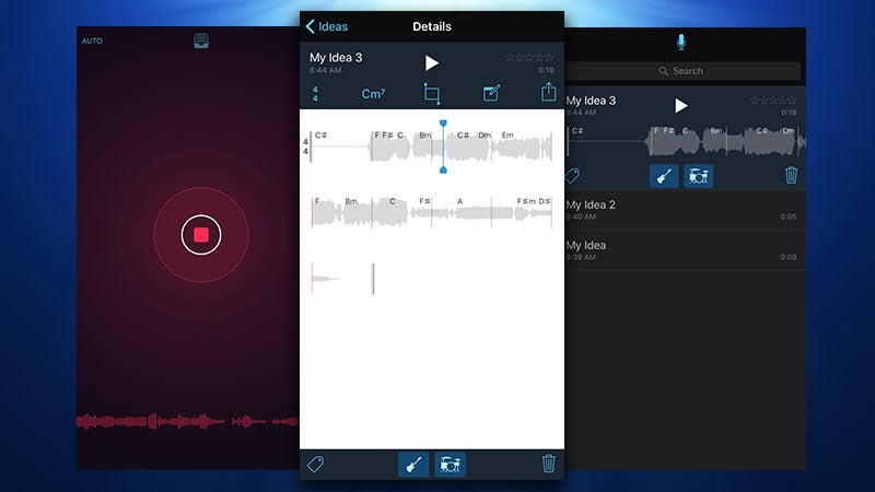 Apple's Music Memos Makes Recording Song Idea Snippets on the Fly Fast and Easy