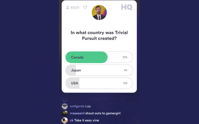 The Internet Is Obsessed With A Live Trivia App