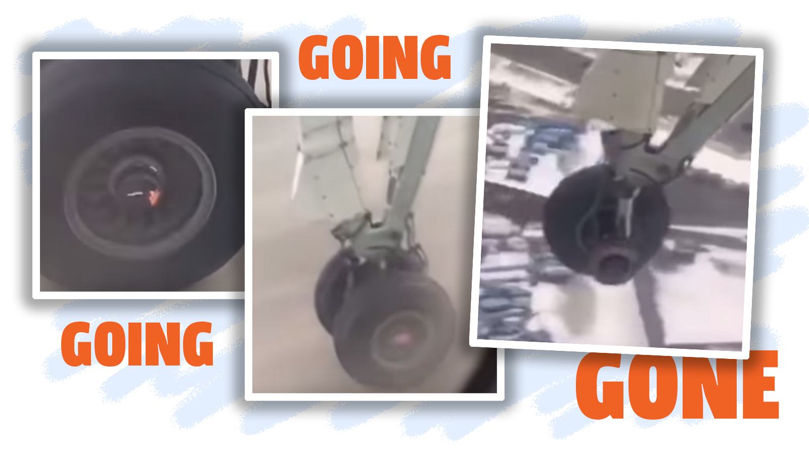 Air Canada Passenger Videos Wheel Shooting Sparks And Falling Off Aeroplane During Takeoff