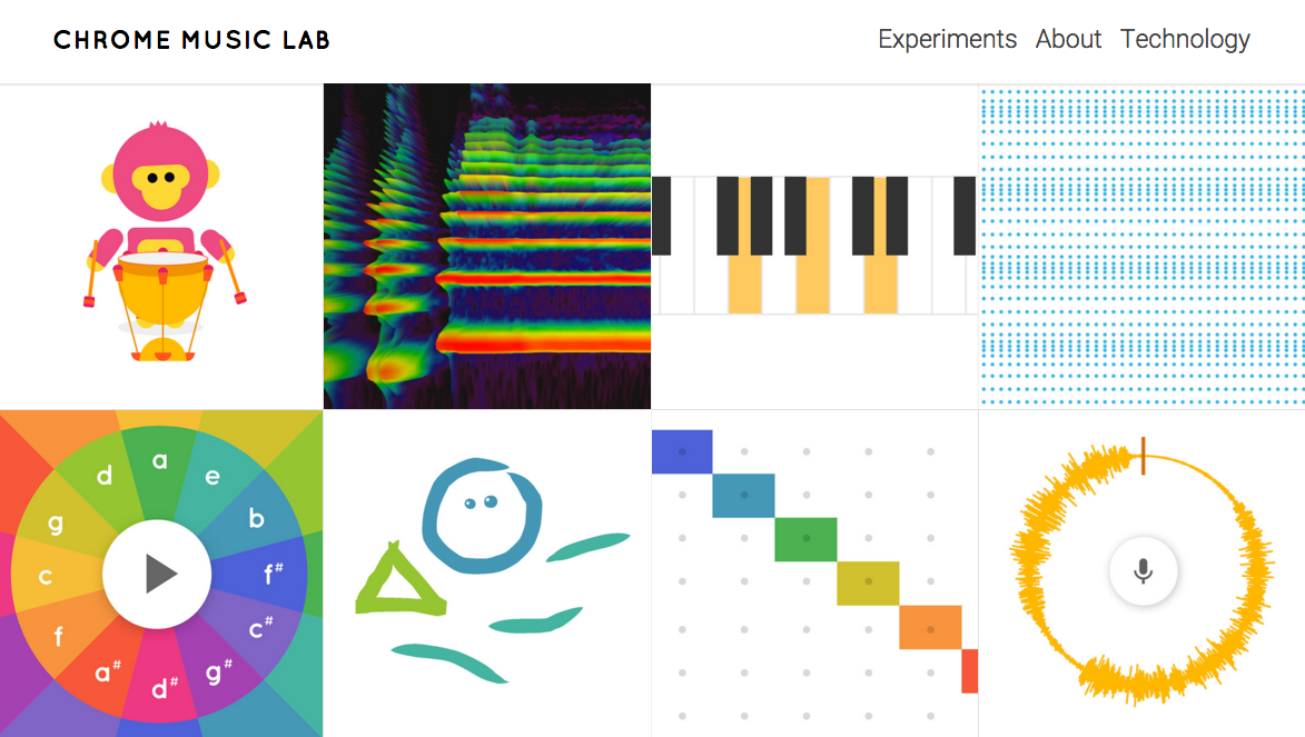 Google's Chrome Music Lab Is Super Addictive