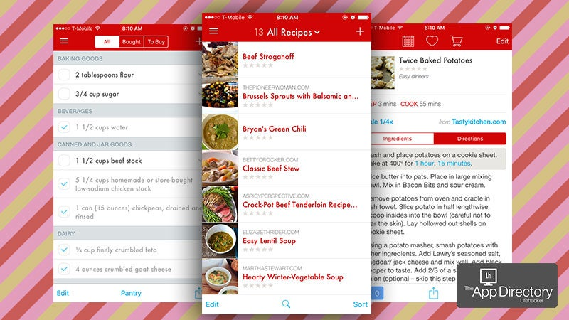 The Best Recipe Manager for iPhone