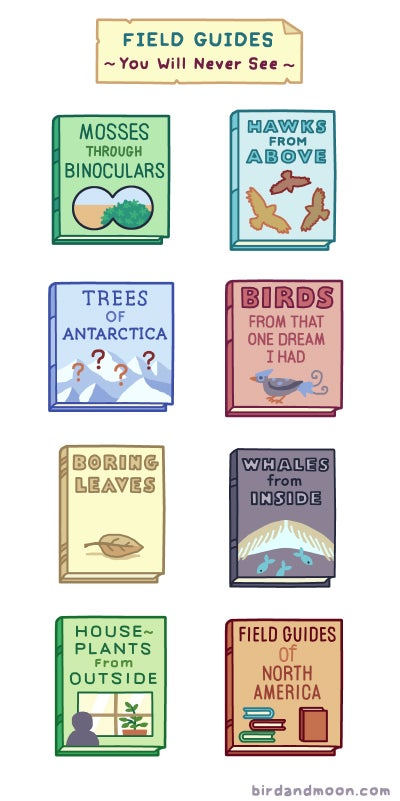 Field Guides We Wish We Had