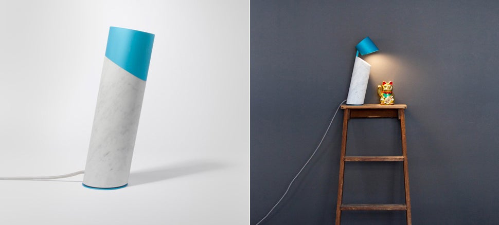 This Lamp Was Inspired By Italic Typography
