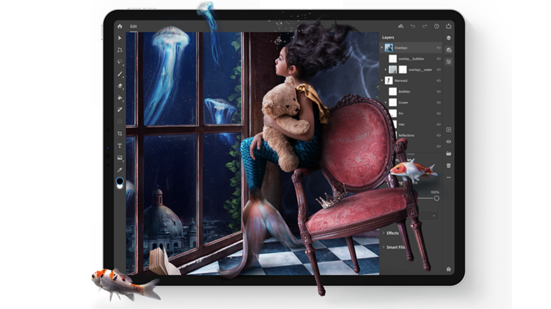 You Can Now Download Photoshop For iPad